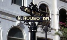 Rodeo Drive, Beverly Hills, LA, USA