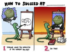 This is the best key to success drawing ever.