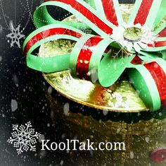 Candice Windham shows you how to create this beautiful gift box at http://www.kooltak.com #craftytips #Christmas #gifts