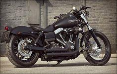 Harley-Davidson Street Bob FXDB this is my next bike