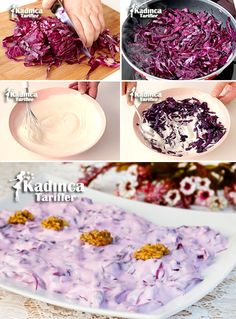 Lila Kohlsalat Rezept mit Joghurt, How To . Best Broccoli Salad Recipe, Fruit Salad Recipes, Yogurt Recipes, Snickers Chocolate Bar, Crab Stuffed Avocado, Light Summer Dinners, Cottage Cheese Salad, Turkish Recipes, Easy Salads