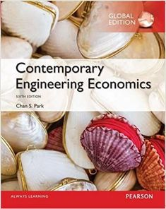 Contemporary Engineering Economics Global Edition 6th Edition by Chan S. Park ISBN-13:9781292109091 (978-1-292-10909-1)ISBN-10:1292109092 (1-292-10909-2) Economics Textbook, Chemistry Textbook, Always Learning, Reading Online, My Books, Read Books, Engineering, Contemporary, Park