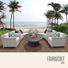 TK Classics Fairmont-08i 8 Piece Outdoor Wicker Patio Furniture Set  https://luxury.boutiquecloset.com/product/tk-classics-fairmont-08i-8-piece-outdoor-wicker-patio-furniture-set/