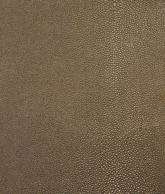 I love Shagreen or Stingray Faux Leather Vinyl - Copperpot Brown