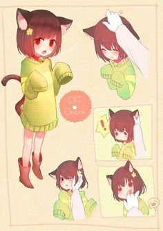 Neko Chara!!! She looks so innocent and cute. You almost forget she despises humanity.