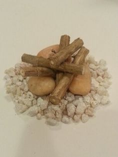 Fairy Garden Fire Pit Kit by FairyGardenArts on Etsy, $3.00