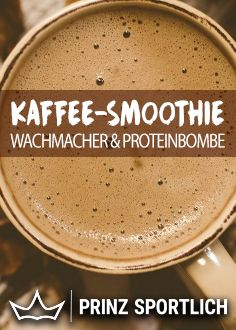 smoothie: stimulant with a lot of protein - Without coffee = without you ? But protein also has to be in the morning ? Then a coffee smoothie -Coffee smoothie: stimulant with a lot of protein - Without coffee = without you ? But protein also has . Protein Smoothies, Smoothie Proteine, Mango Smoothies, Raspberry Smoothie, Apple Smoothies, Protein Foods, Smoothie Recipes, Smoothies Coffee, Healthy Protein