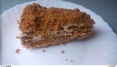 Domaci nepeceny medovnik Tiramisu, Cheesecake, Oatmeal, Food And Drink, Pie, Baking, Breakfast, Ethnic Recipes, Gardening