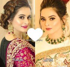 #Aimanminalkhan💕@zoha Aimen Khan, Baal Veer, Pre Wedding Party, Girl Face, Pakistani, Drop Earrings, Celebrities, Outfits, Beautiful