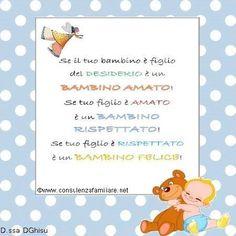 Se il #bambino è amato, è un #bambino felice! #educazione #figli…