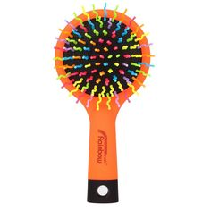Candy Brush Rainbow Color S curl Teeth Detangling Hair Brush With Mirror (Orange) -- This is an Amazon Affiliate link. Be sure to check out this awesome product.