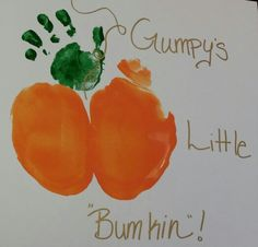 Halloween Crafts For Toddlers, Halloween Crafts For Kids, Toddler Crafts, Halloween Decorations, Baby Art Crafts, Baby First Halloween, Footprint Crafts, Daycare Crafts, Toddler Christmas
