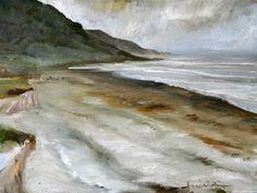 Paisagem 12.X.13  Oil on Canvas, 50x80cm. 2013.