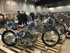 More badass bikes from the Mooneyes Yokohama Hot Rod and Custom Show. @mooneyesjp #HRCS2017