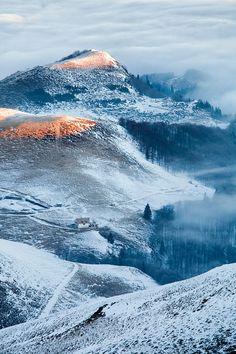 Sunrise Balkan Mountains, Bulgaria