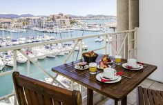 Enjoy the view on the harbour @ Mercure Thalassa Port Fréjus #CoteDAzur #France