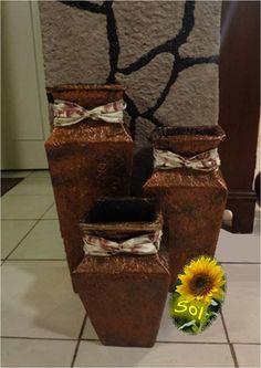 Los jarrones de Sol Flores