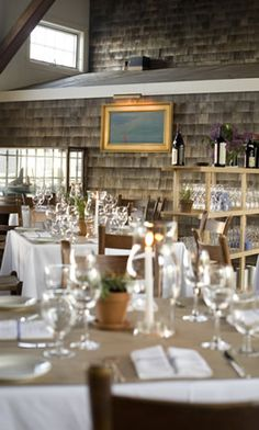 Straight Wharf Restaurant - No. 6 Harbor Square, Nantucket, MA