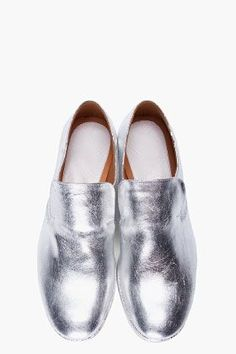Silver Shoes from Maison Martin Margiela