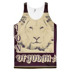 LION OF JUDAH Classic fit tank top (unisex)