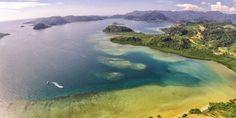 Subhanallah, Beginilah Keindahan Taman Nasional Laut Mandeh Dari Udara