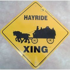 Draft Horse Hayride Xing