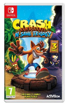 Crash Bandicoot NSane Trilogy (Nintendo Switch): Amazon.co.uk: PC & Video Games