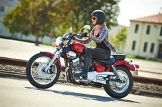 Riding your motorcycle for pleasure or to save money on gas? We offer competitive rates on motorcycle insurance no matter what sort of bike you ride. Motorcycle Equipment, Custom Motorcycle Helmets, Cruiser Motorcycle, Motorcycle Accessories, Motorcycle Babe, Biker Chick, Biker Girl, Lady Biker, Yamaha V Star