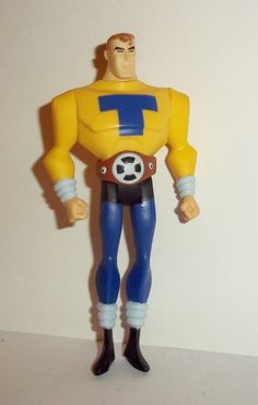 mattel JUSTICE LEAGUE UNLIMITED TOM TURBINE Condition: excellent - displayed only/collectable condition figure size: 4 1/2 inches