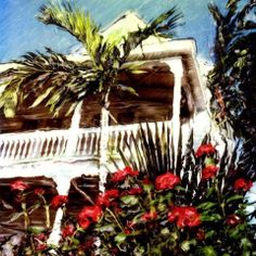 Have you ever had a morning in Key West where this is how things really look?  This reminds me of the Avalon Bed and Breakfast.