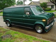 custom ford van | This baby needs some paint work,carb.work,and a little tlc…