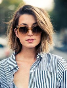 short hair round face small forehead - Google Search