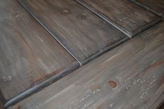 Organized Bedlam: How to Make New Wood Look Weathered