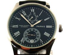 Parnis automatic power reserve 43mm