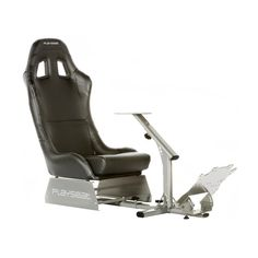 Playseat Evolution Gaming Chair - Black with Silver Frame - REM.00004
