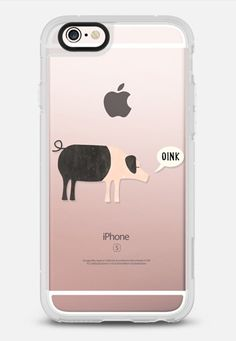 Oink by Nic Squirrell for Casetify