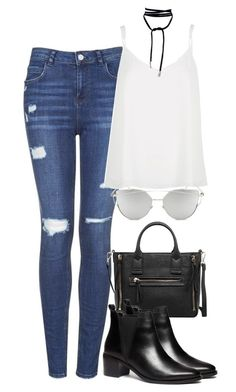 Sans titre #775 by nicolaisbae on Polyvore featuring polyvore fashion style River Island Topshop Dorothy Perkins MANGO Chicnova Fashion clothing