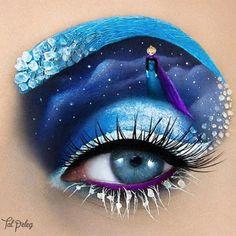 Frozen, Eye art by Tal Peleg