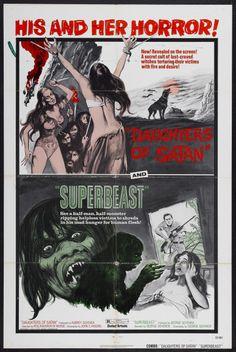 """Daughters of Satan & """"Superbeast""""  (1972)"""