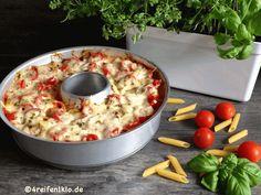 """Nudelauflauf """"Bella Italia"""" Pasta geht doch immer. Wer kann bei Pasta schon nein sagen? Na ja, auf Anhieb würde ich direkt sagen: ..."""