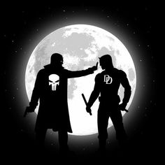 #Punisher #Daredevil