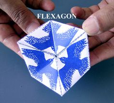 Toys from Trash - Great way to teach the food chain - predators with a flexagon.