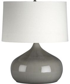 Martin Table Lamp - contemporary - table lamps - Crate