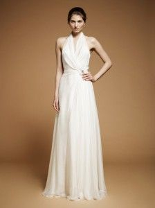 """Jenny Packham Fall 2012 Wedding Dress Collection. The new collection of Jenny Packham wedding gowns epitomized the designer's """"vintage glamour"""" style."""