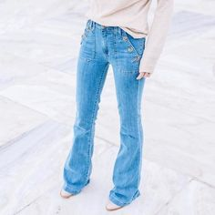 Paige Bell Canyon High Rise Jeans