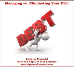 """Now on the blog: """"Managing vs. Eliminating Your #Debt"""""""
