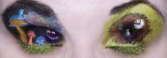 21 exemples de maquillage absolument époustouflants