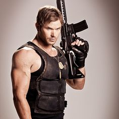 Kellan Lutz as his character 'Smilee' The Expendables 3