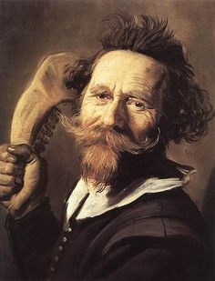 Frans Hals - Verdonck  Saw this in the Scottish National Gallery & loved it!