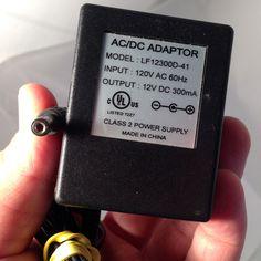 LF12300D-41 12V DC 300mA Power Supply Adapter